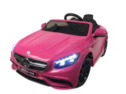 hl169-mercedes-s63-elektrische-kinderauto-12-volt-rubberen-banden-leder-zitje-roze-accu-toys-bv8