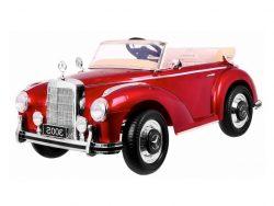 ls618-mercedes-300s-klassieker-elektrische-kinderauto-rubberen-banden-leder-zitje-accu-toys-rood5