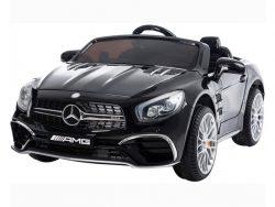 xmx602-mercedes-sl63-elektrische-kinderauto-12-volt-rubberen-banden-leder-zitje-zwart-accu-toys5